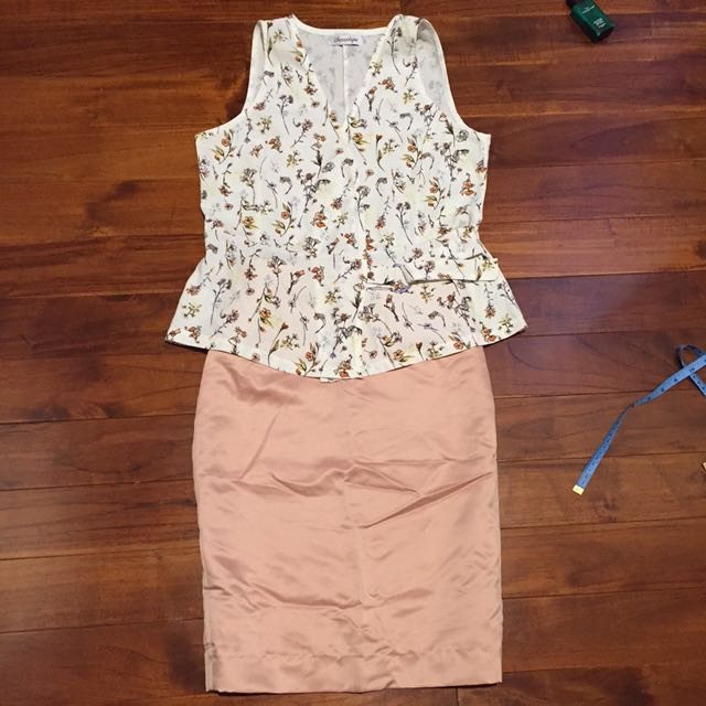 chocochips flowery TOP