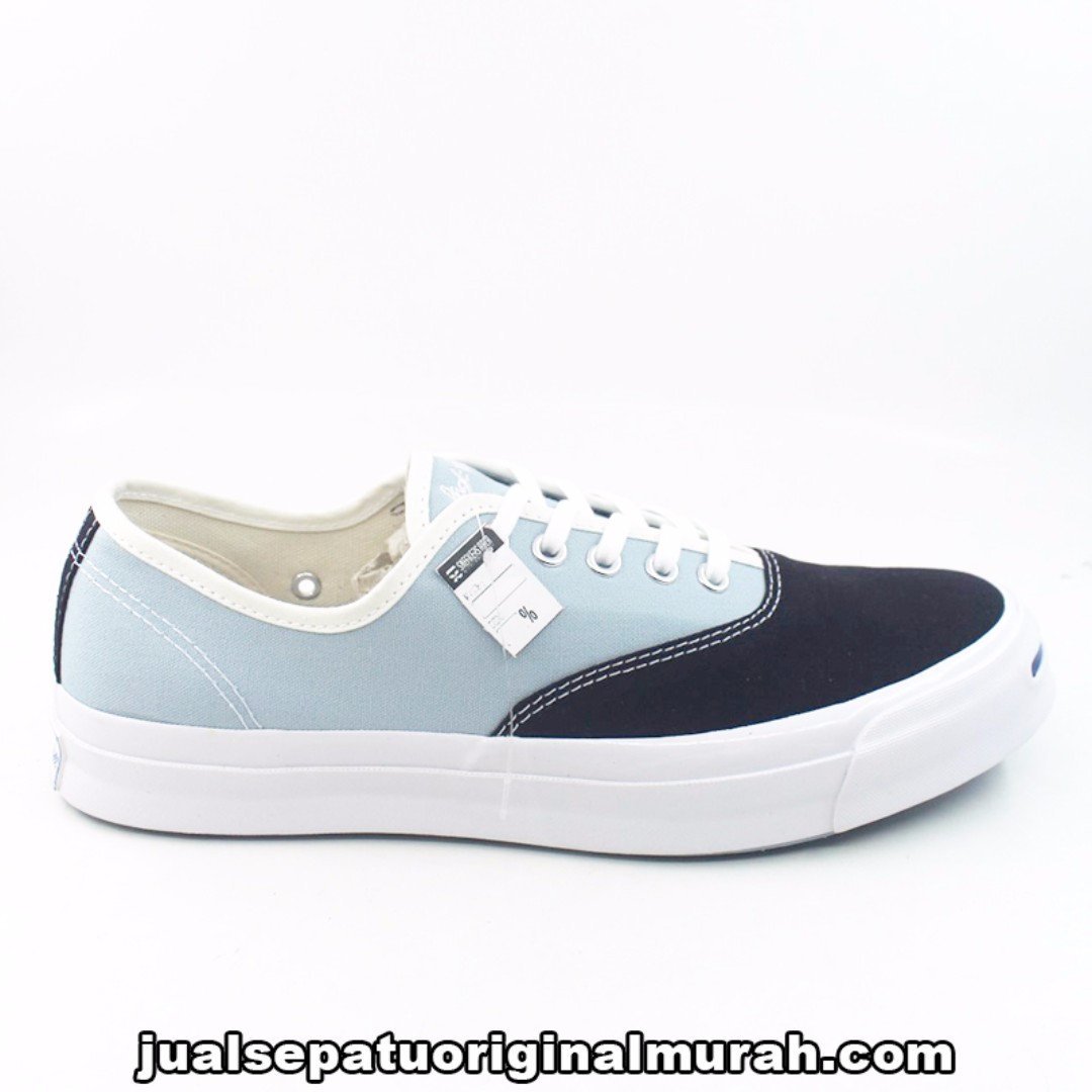 acd963413aff Converse Jack Purcell Signature Ox Inked Ambient Blue Egret CVO ...