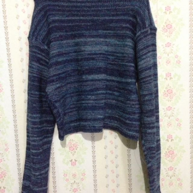 Crop Tee Sweater