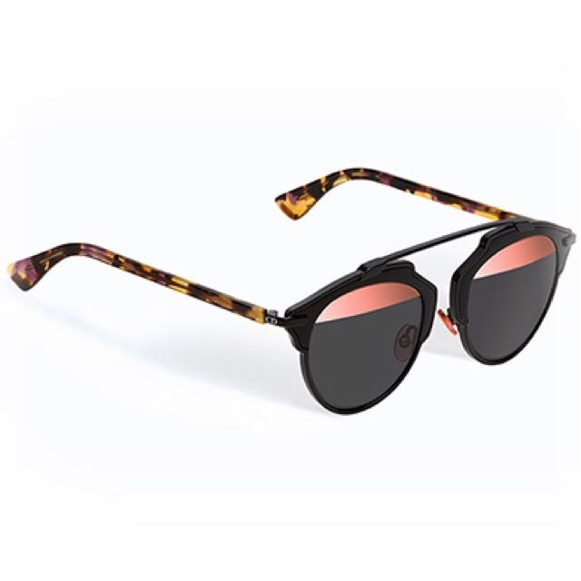 0bb202ce8306 Dior So Real Sunglasses In Black   Pink