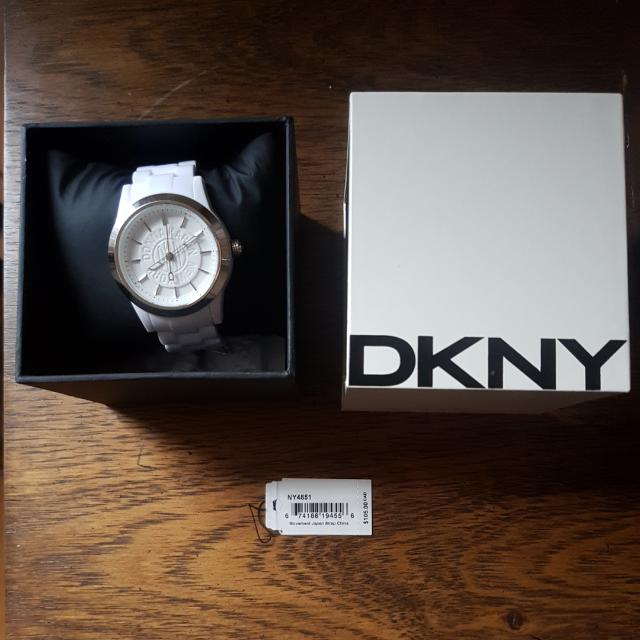 DKNY Plastic Link Watch