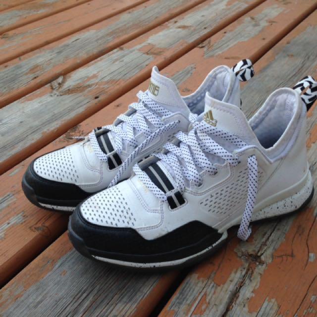 Dope Adidas Black & White Sneakers