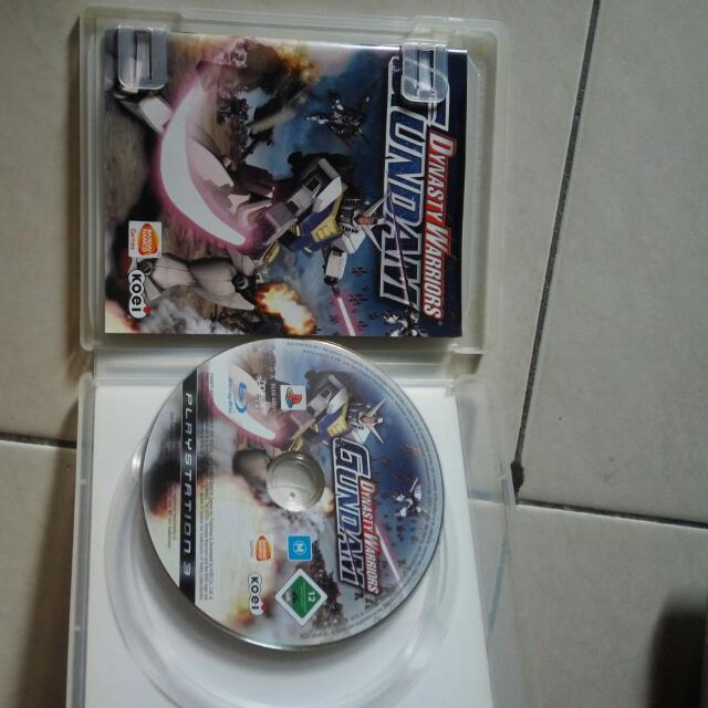 Dynasty Warrior Gundam Ps3 Original Games
