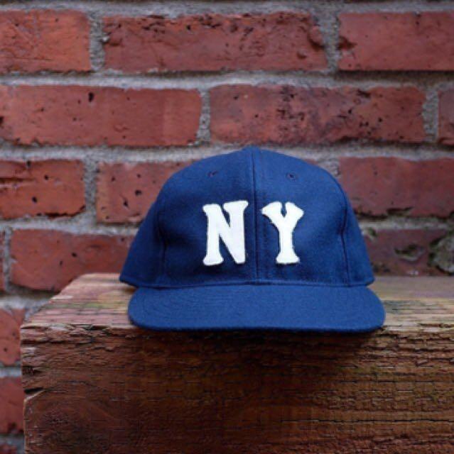 EBBETS FIELD FLANNELS 洋基 羊毛 棒球帽 老帽