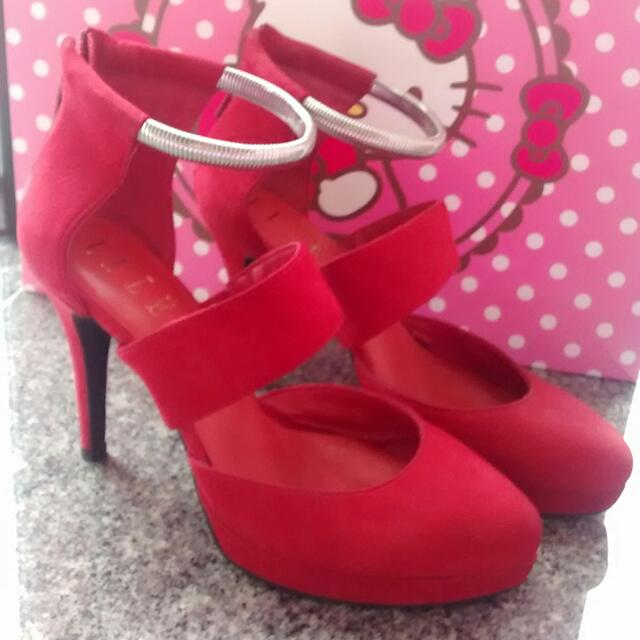 Elle Red High Heels