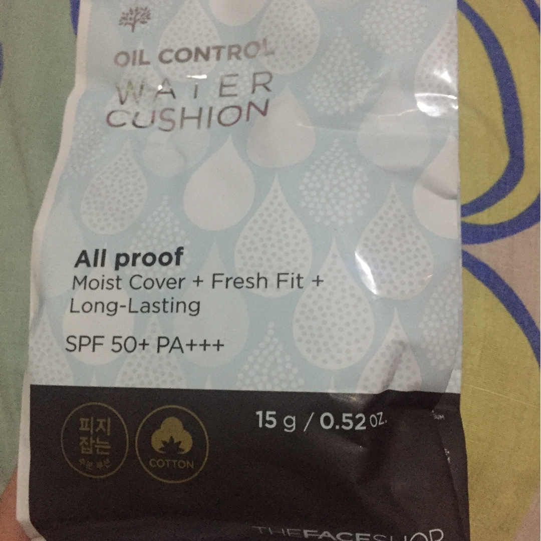 Face Shop Oil Control Water Cushion Refill