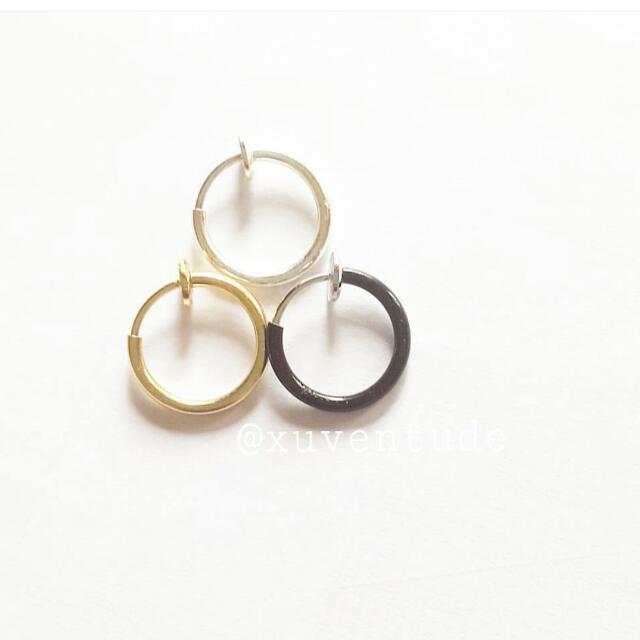 FAUX NOSE RINGS (faux piercing)
