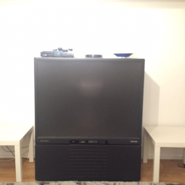 Flat Screen Box Television