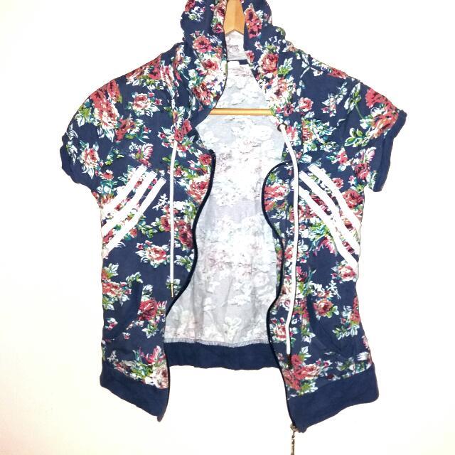 Floral Sleeves Jacket