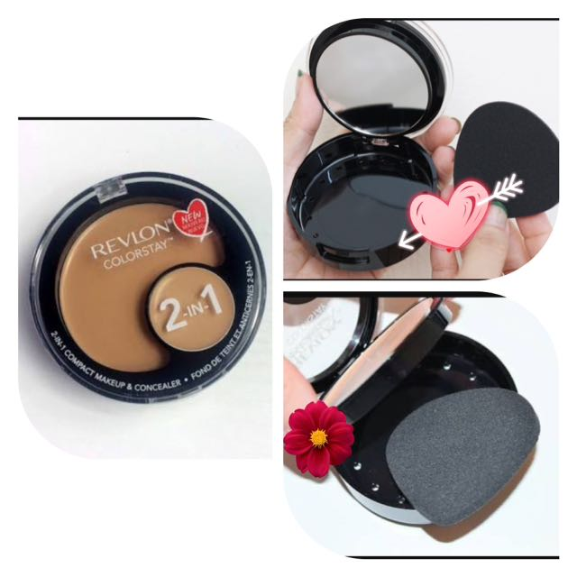 Foundation And Concealer Compact