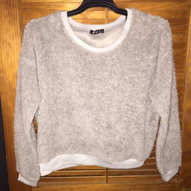 #thecafe Furry Sweater