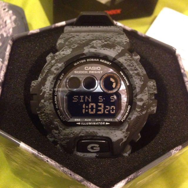 G SHOCK 聯名錶 月球表面 GD-X6900