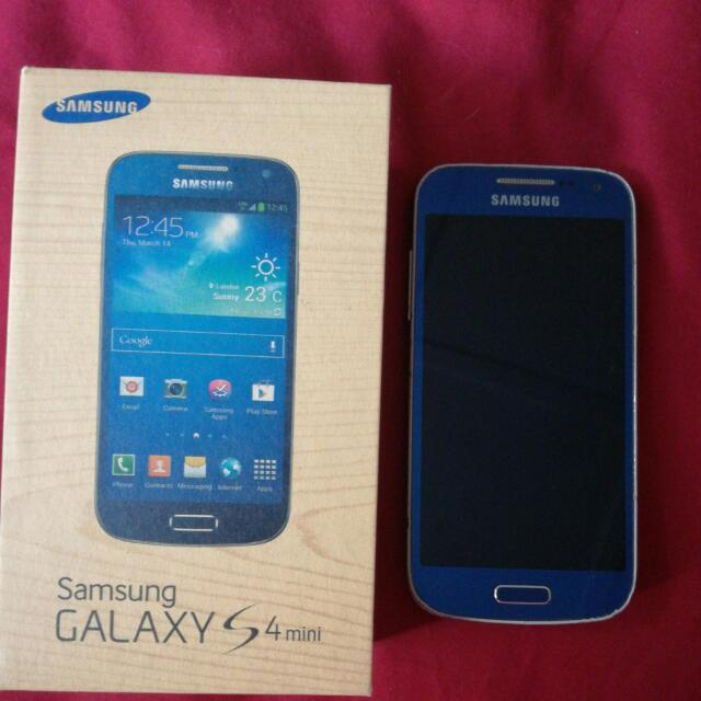 Galaxy S4 Mini Arctic Blue
