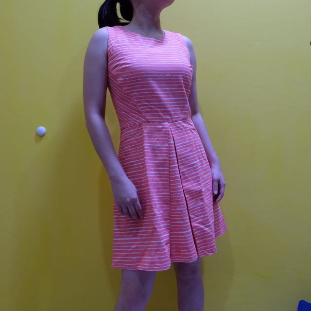GAP Dress Pinky Stripe