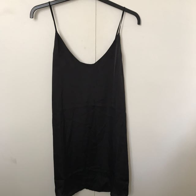 Glassons Black Slip Dress