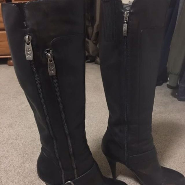 Guess Leather Stilleto Boots