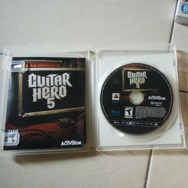 Guitar Hero 5 PS3 Original Game