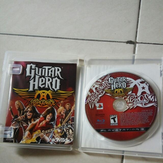 Guitar Hero Aerosmith Ps3 Original Games