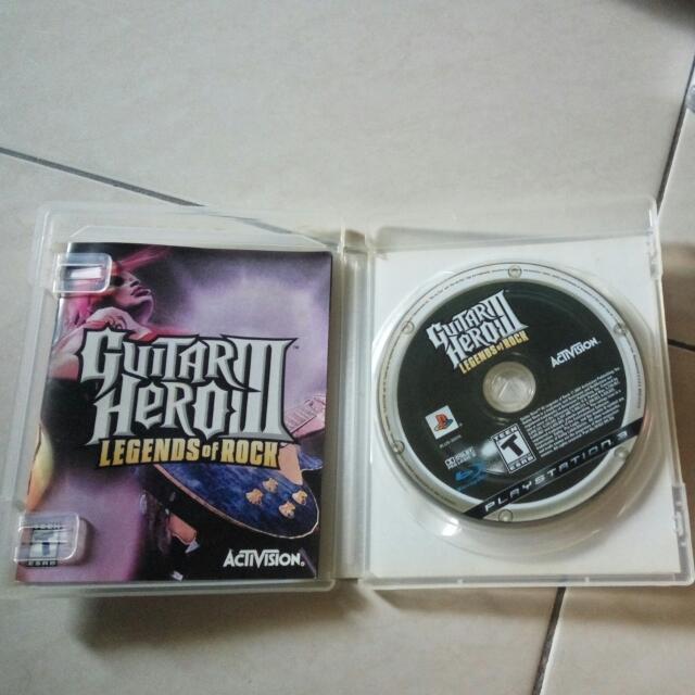 Guitar Hero III Ps3 Original Games