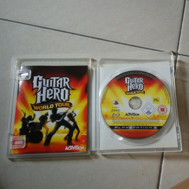 Guitar Hero World Tour Ps3 Original Games