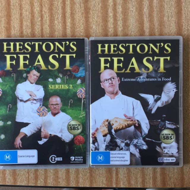 Heston's Feast dvd set