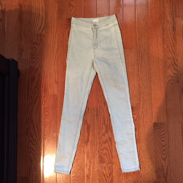 High Waisted Jeggings From Garage