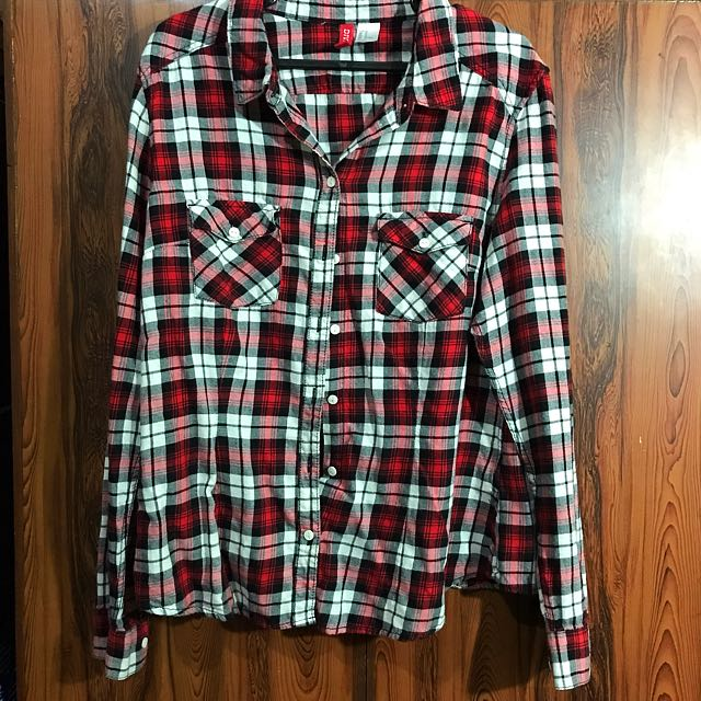 H&M Divided Plaid (Flannel) Shirt