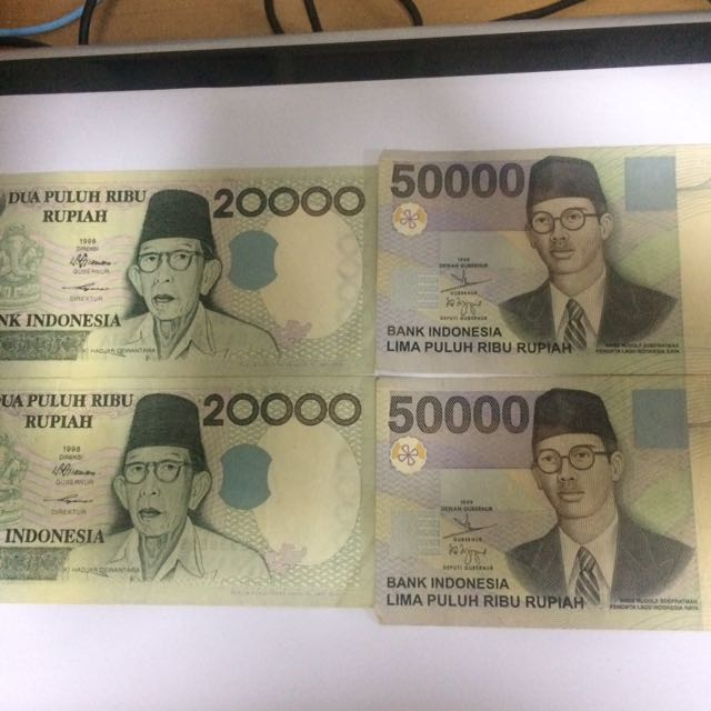 Indonesia 20000 Currency Note