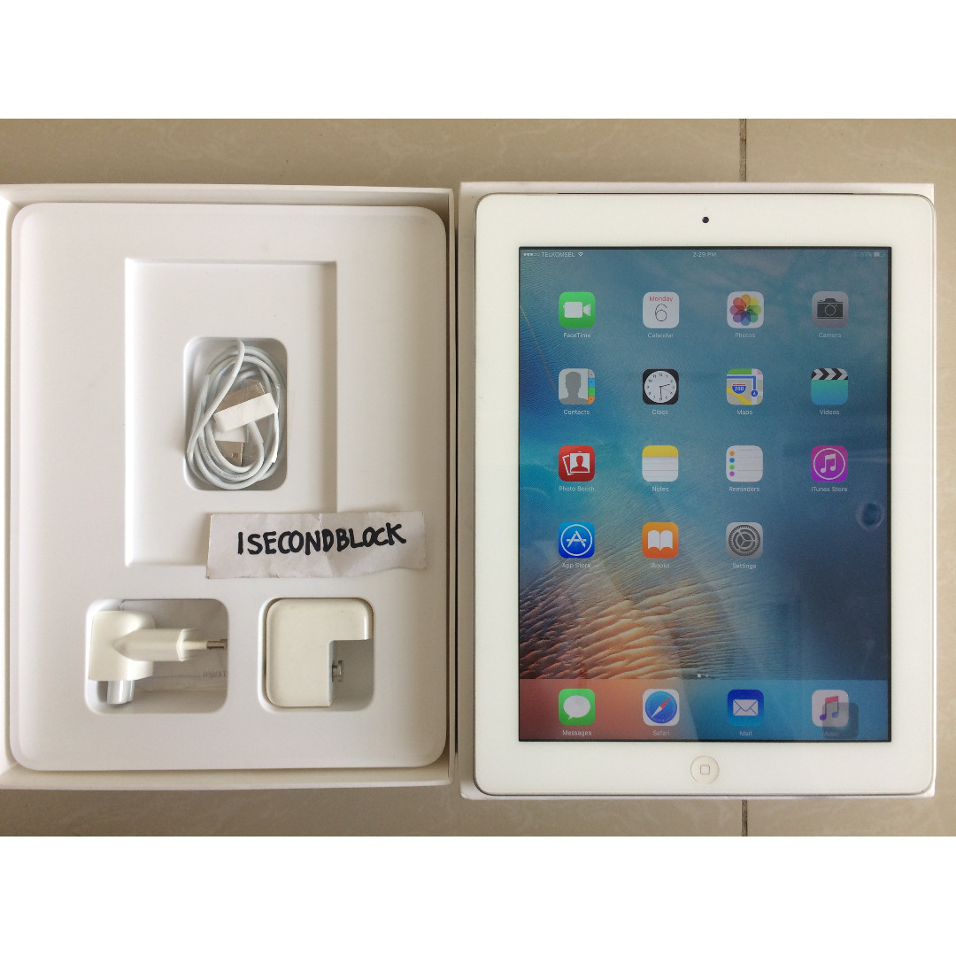 Ipad 2 32GB Second Fullset Istimewa