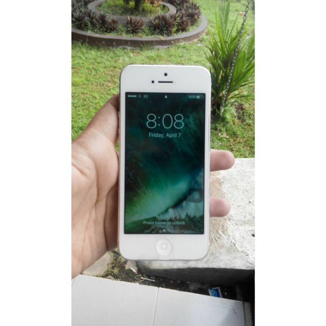Iphone 5 16gb (batangan)