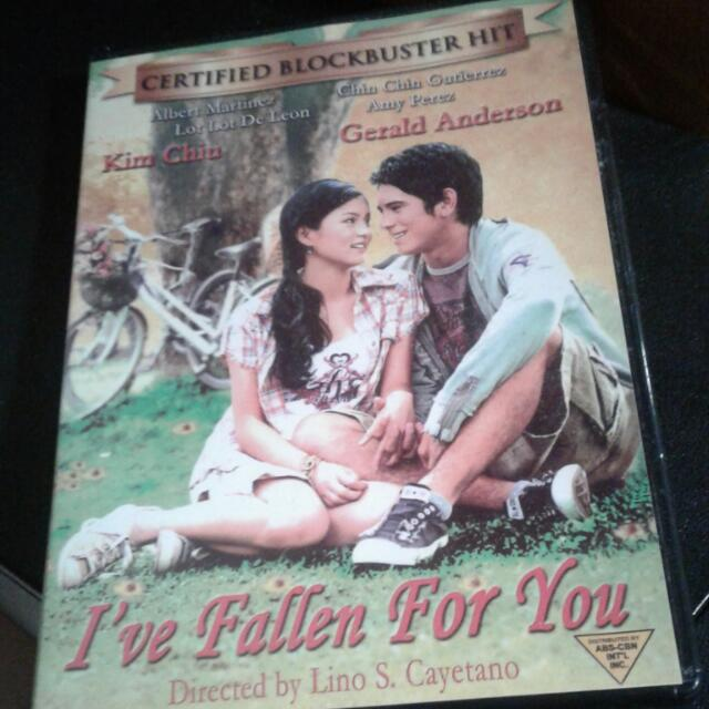 REDUCED 😊I've Fallen For You  (Filipino Movie)