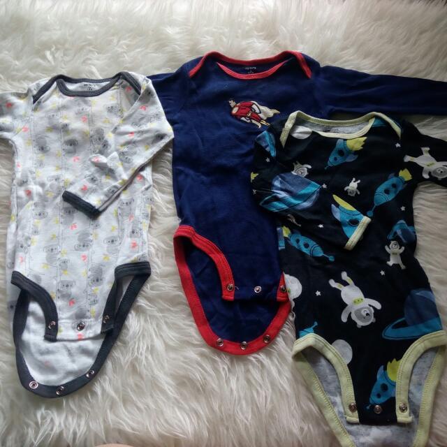 Jamsuit Bayi 12 Bulan. Tersedia 3 Motif