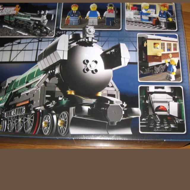Lego Rare Retired Set Emerald Night Train Brand New In Mint