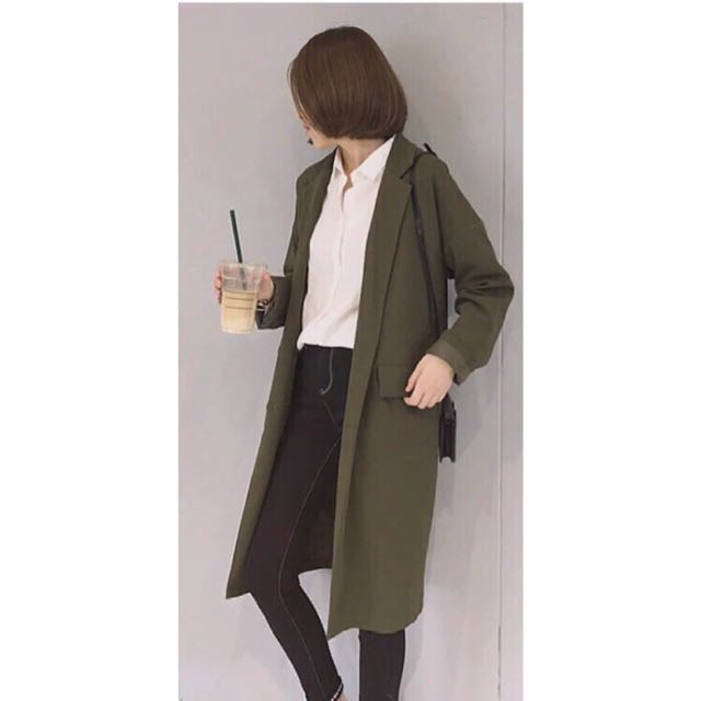Long Outer/ Blazer Army