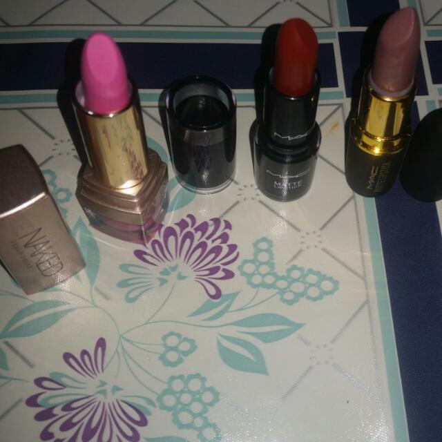 Mac Lipstick bundle