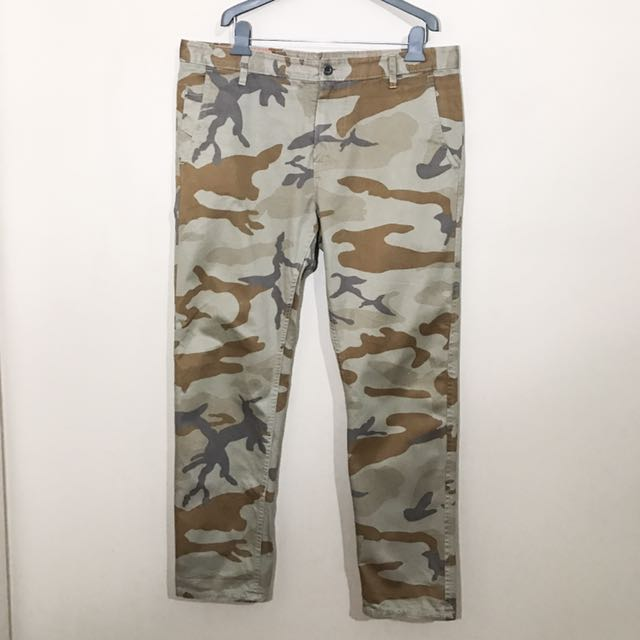 Men's Dockers Camo Pants 36x32