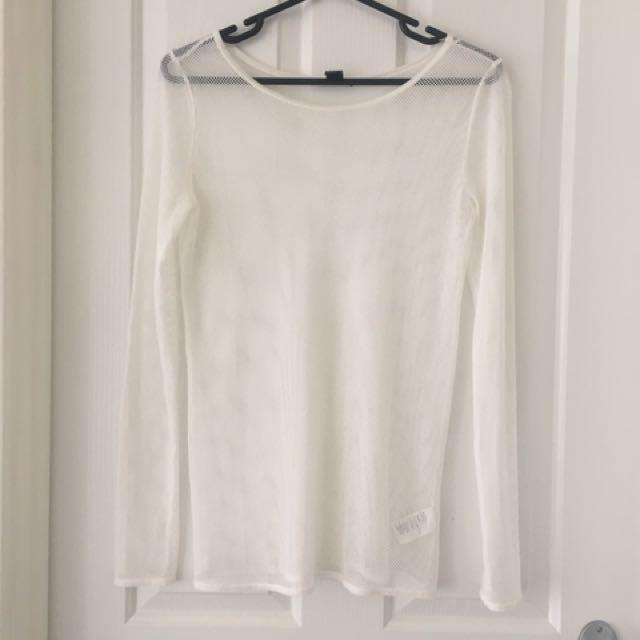 Mesh T-Shirt Size S