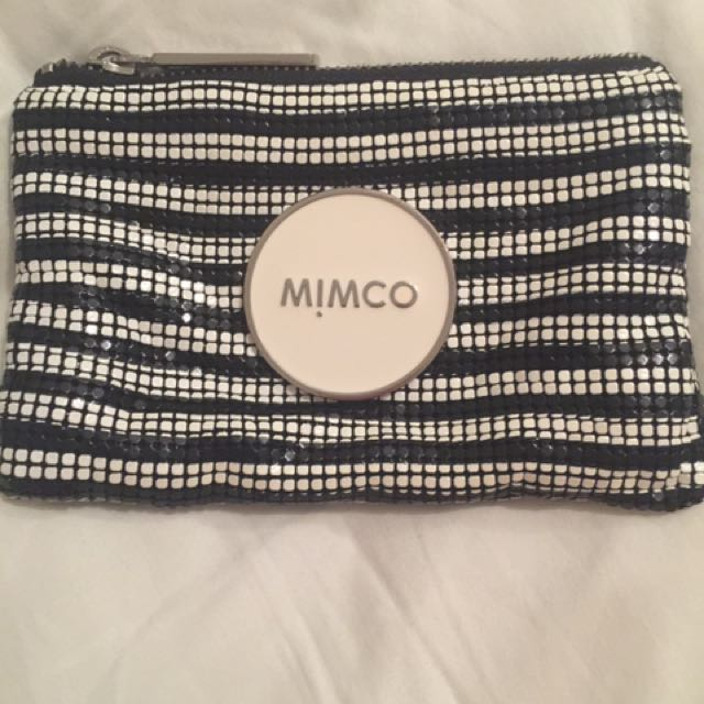Mimco Glomesh Pouch