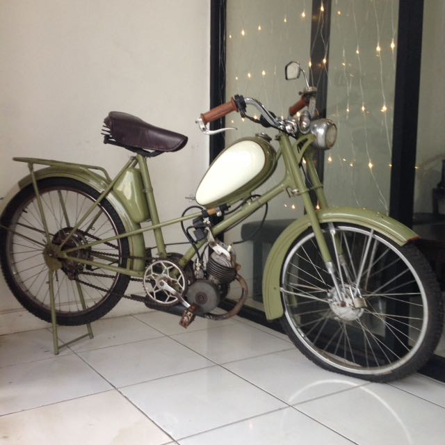 Moped Th 1955 - Mobylette Kaptein