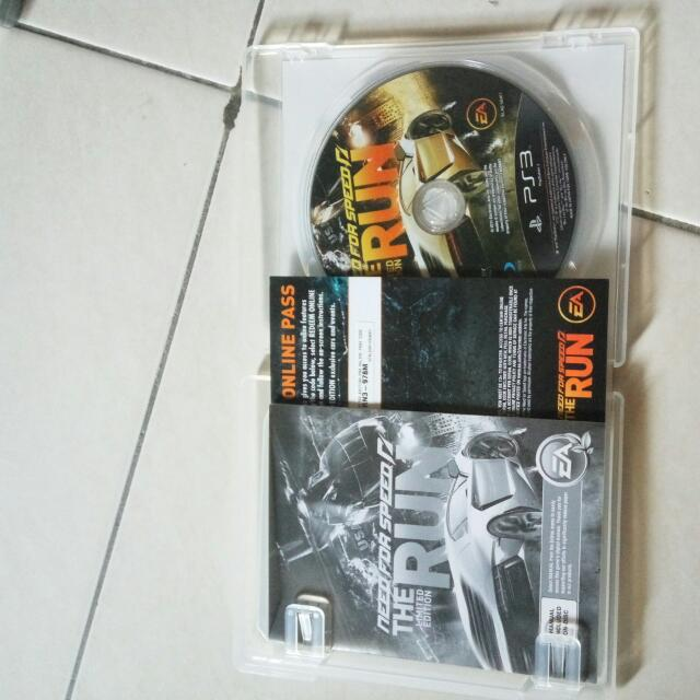 Need For Speed The Run Ps3 Original Games