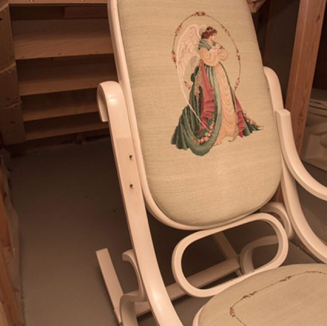 Needlepoint Rocking Chair