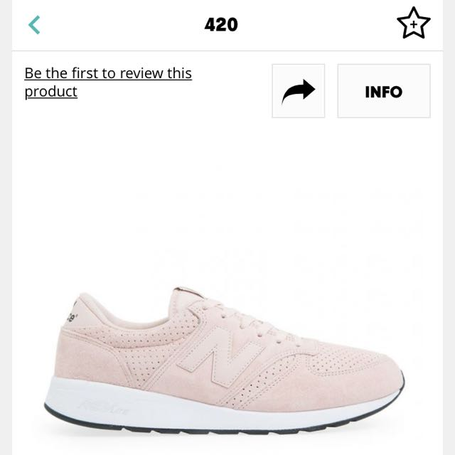 New Balance 420 麂皮男女鞋
