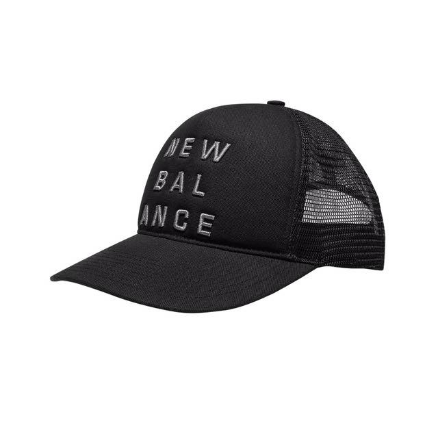 Newbalance 500135-001 立體繡花卡車帽