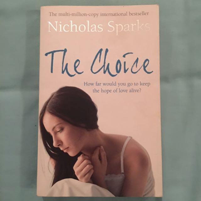 Nicholas Sparks - The Choice - paperback