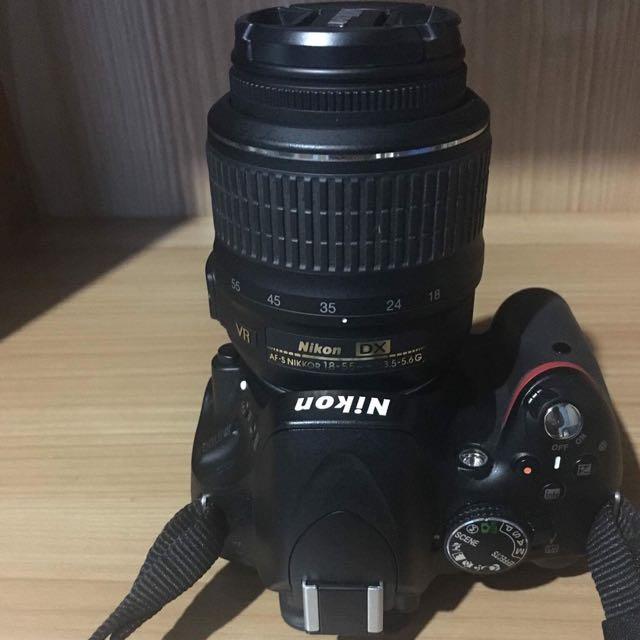 Nikon D5100 VR 18-55mm DSLR
