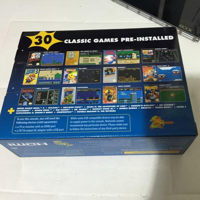 Nintendo NES Classic Mini Console BNIB