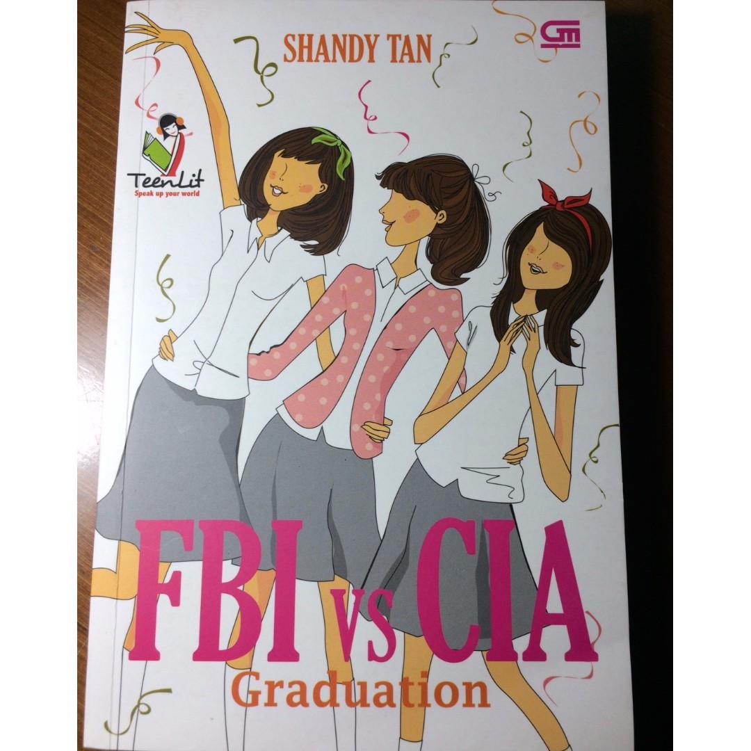 "Novel FBI vs CIA ""Graduation"" by Shandy Tan"