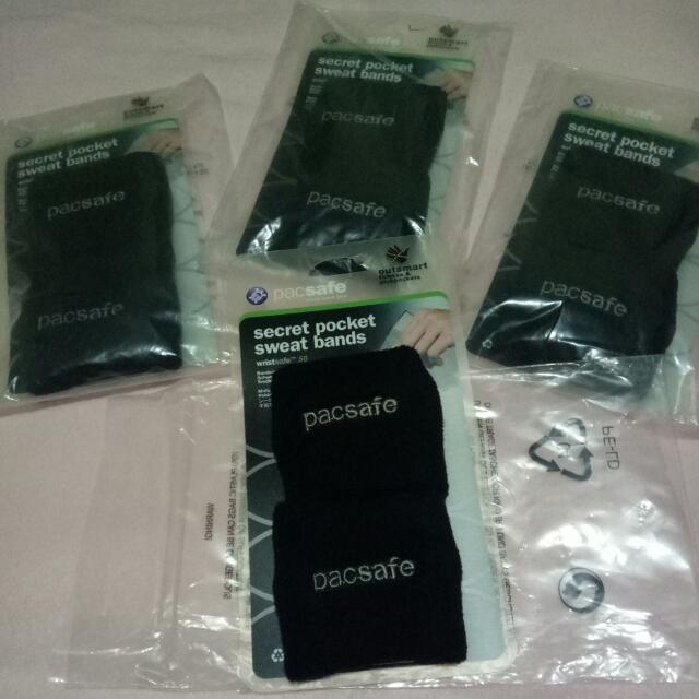 Pac safe secret pocket sweat bands