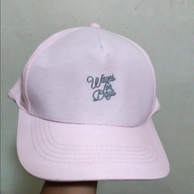 Penshoppe Cap Pink Pastel Color