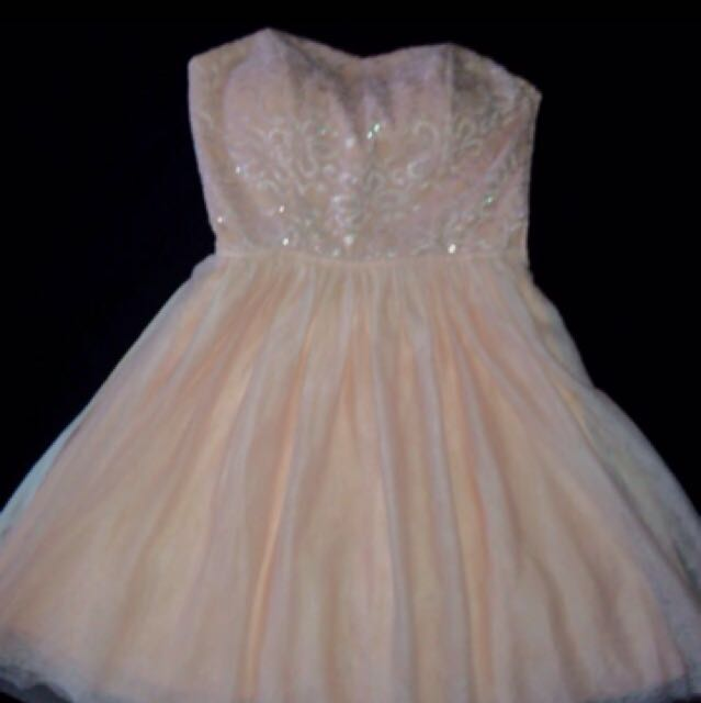 Pink Le Chateau Dress